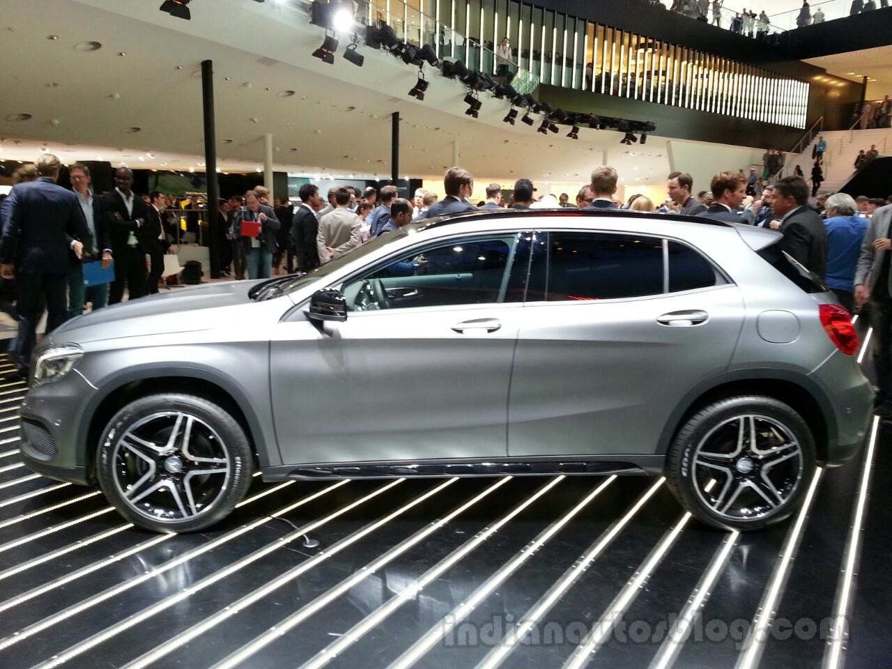 Mercedes GLA Left Side