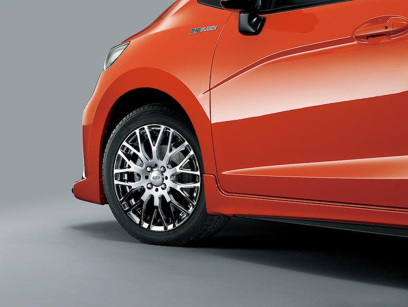Mugen alloy wheels type 6 2014 Honda Jazz