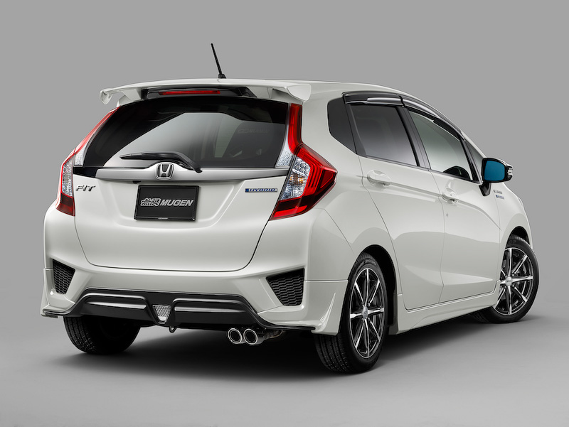 Mugen releases parts catalog for the 2014 Honda Jazz (Fit)