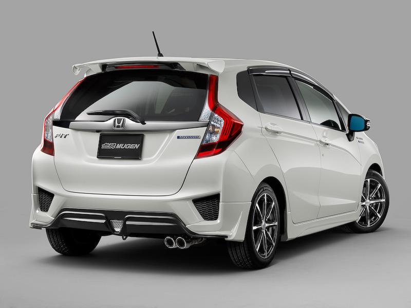 Mugen body kit 2014 Honda Jazz (rear)