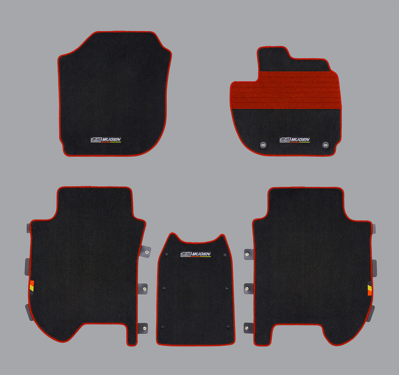 Mugen floor mats for the 2014 Honda Jazz