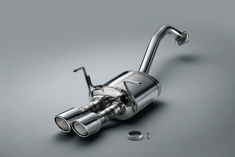 Mugen performance exhaust for 2014 Honda Jazz