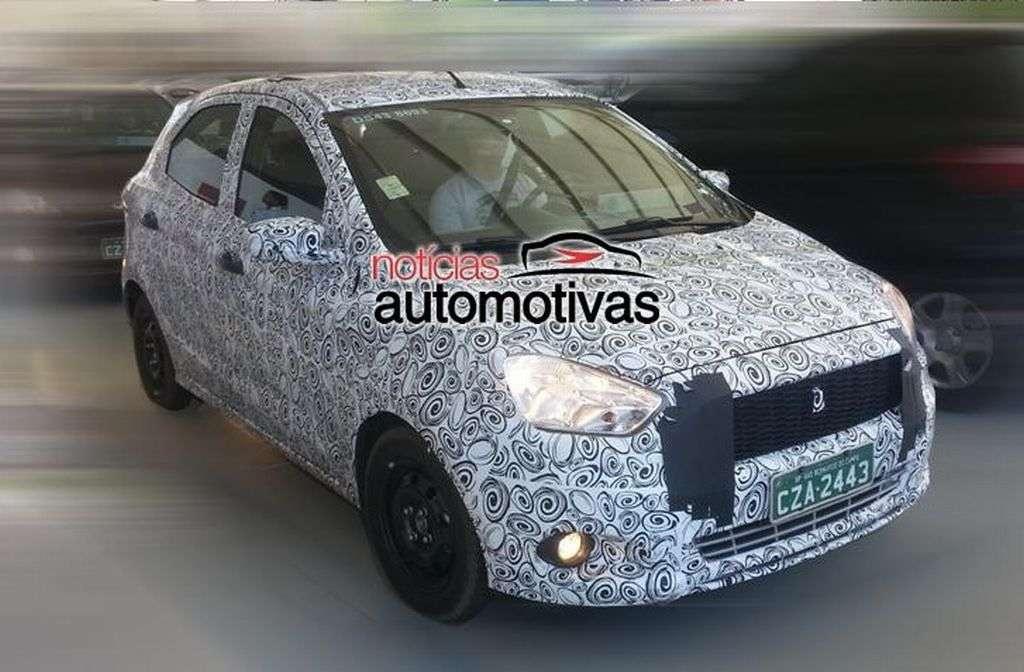 Next generation Ford Figo