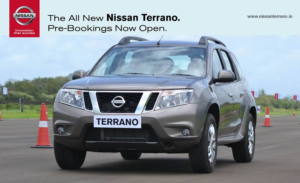 Nissan Terrano pre-bookings