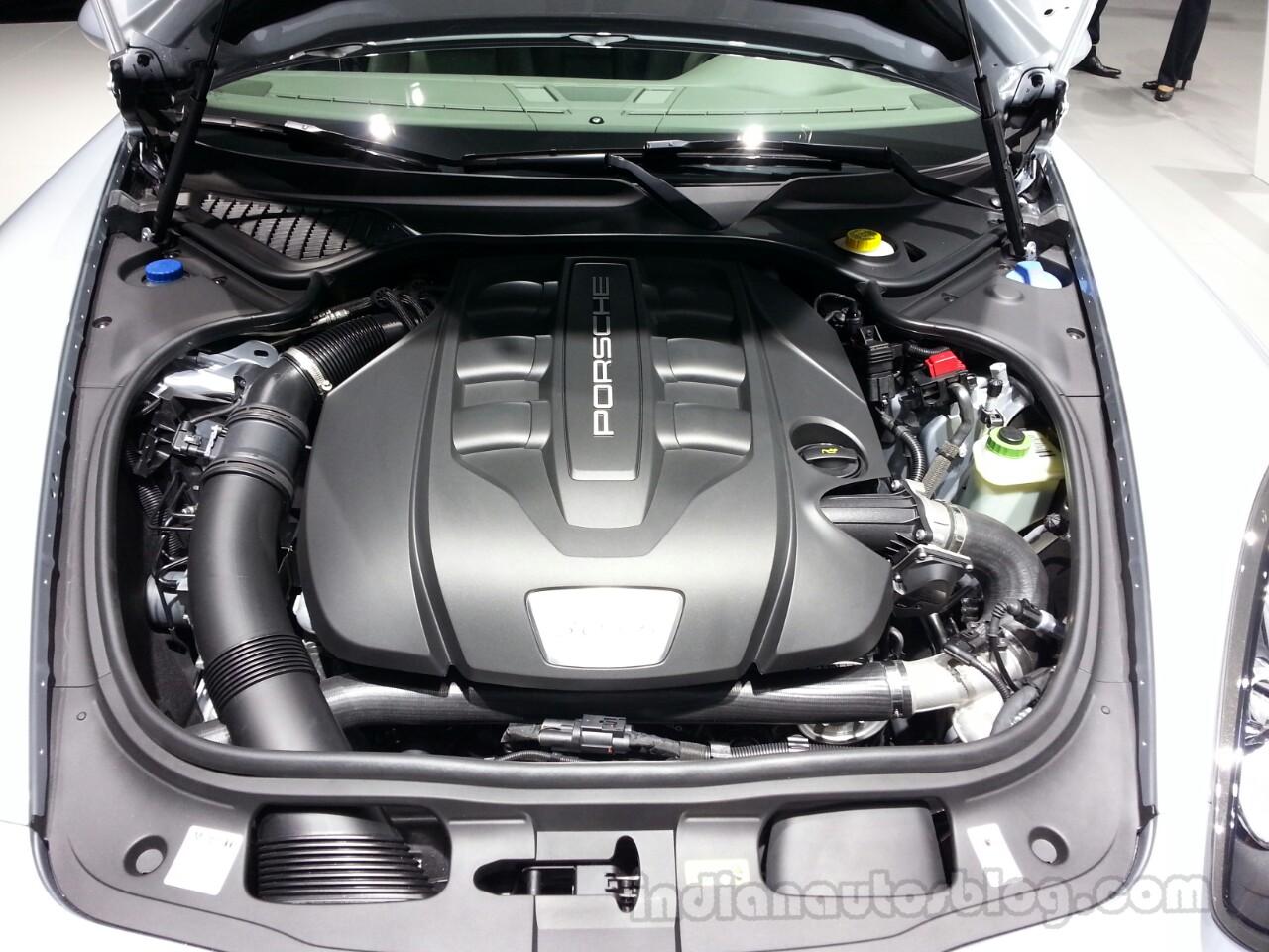 Porsche Panamera Diesel engine
