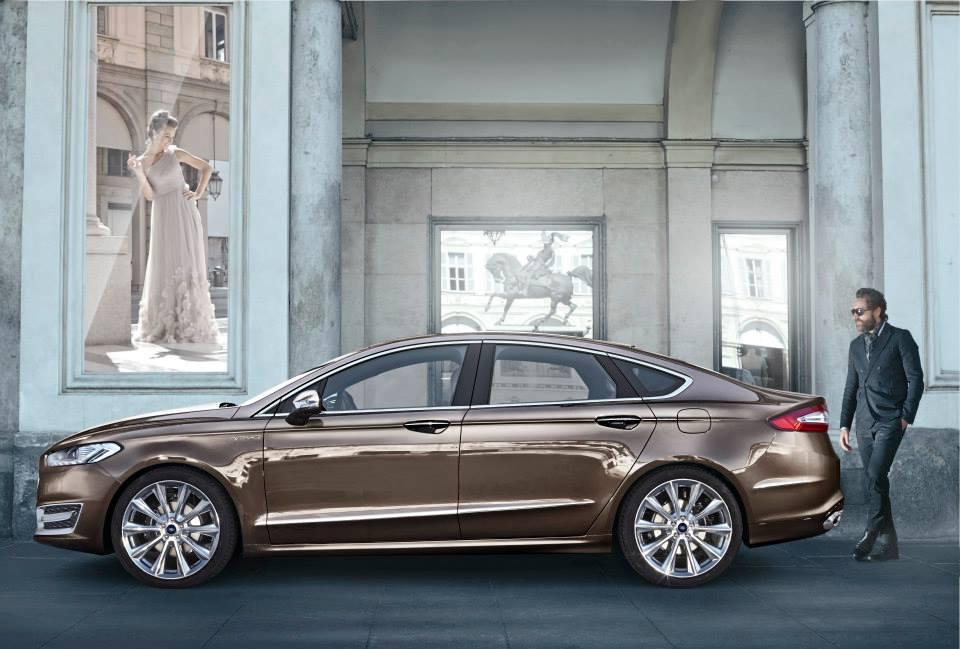 Profile of the Ford Mondeo Vignale concept