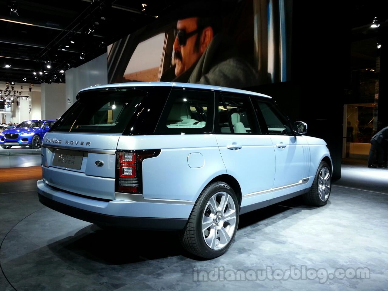 Range Rover Hybrid Rear Right
