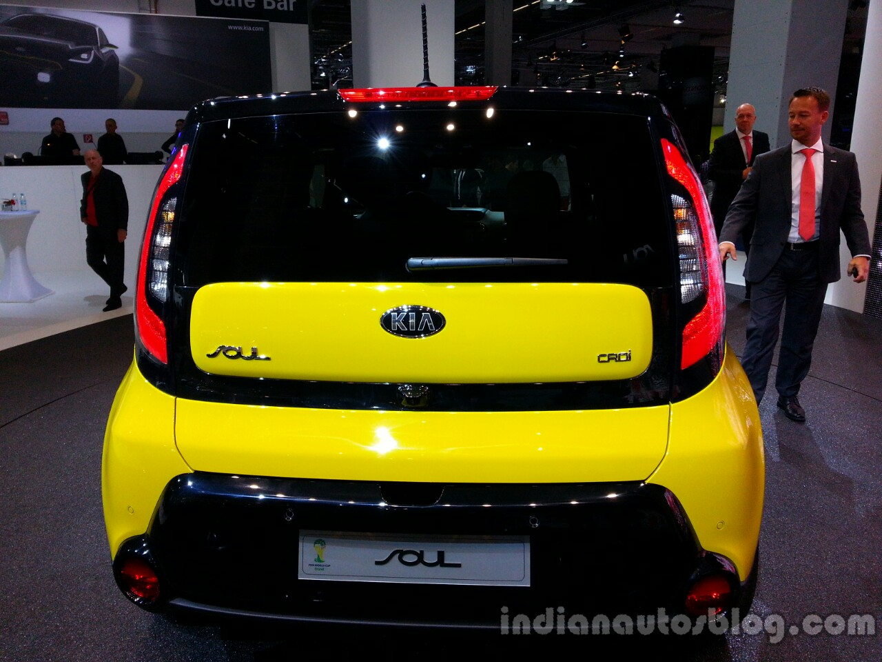 Rear of the 2014 Kia Soul