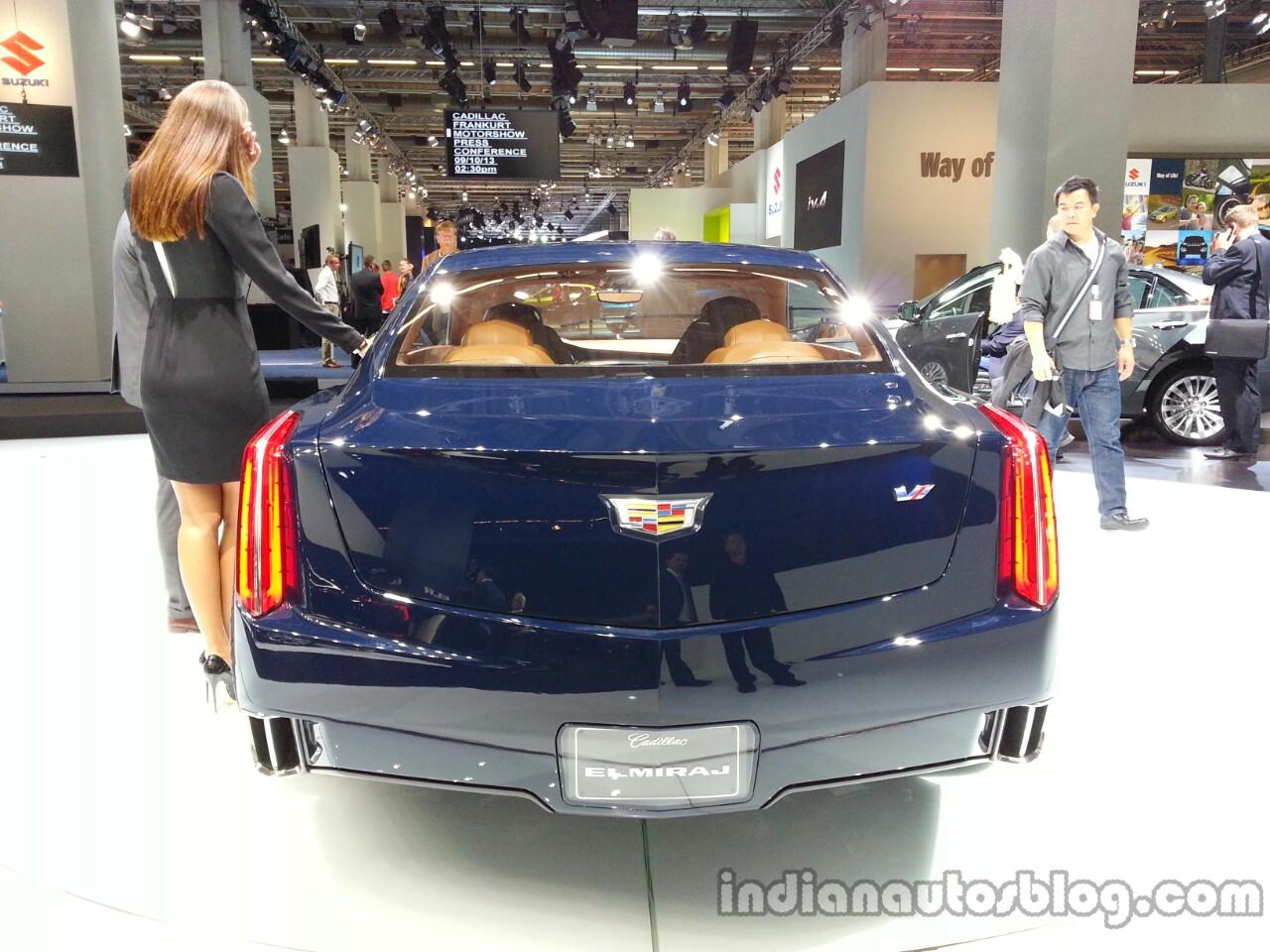 Rear of the Cadillac Elmiraj Concept