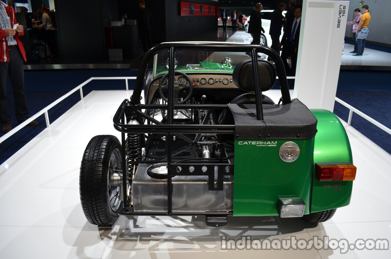 Rear of the Caterham Seven 165