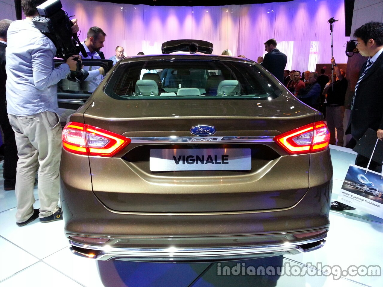 Rear of the Ford Mondeo Vignale Concept sedan