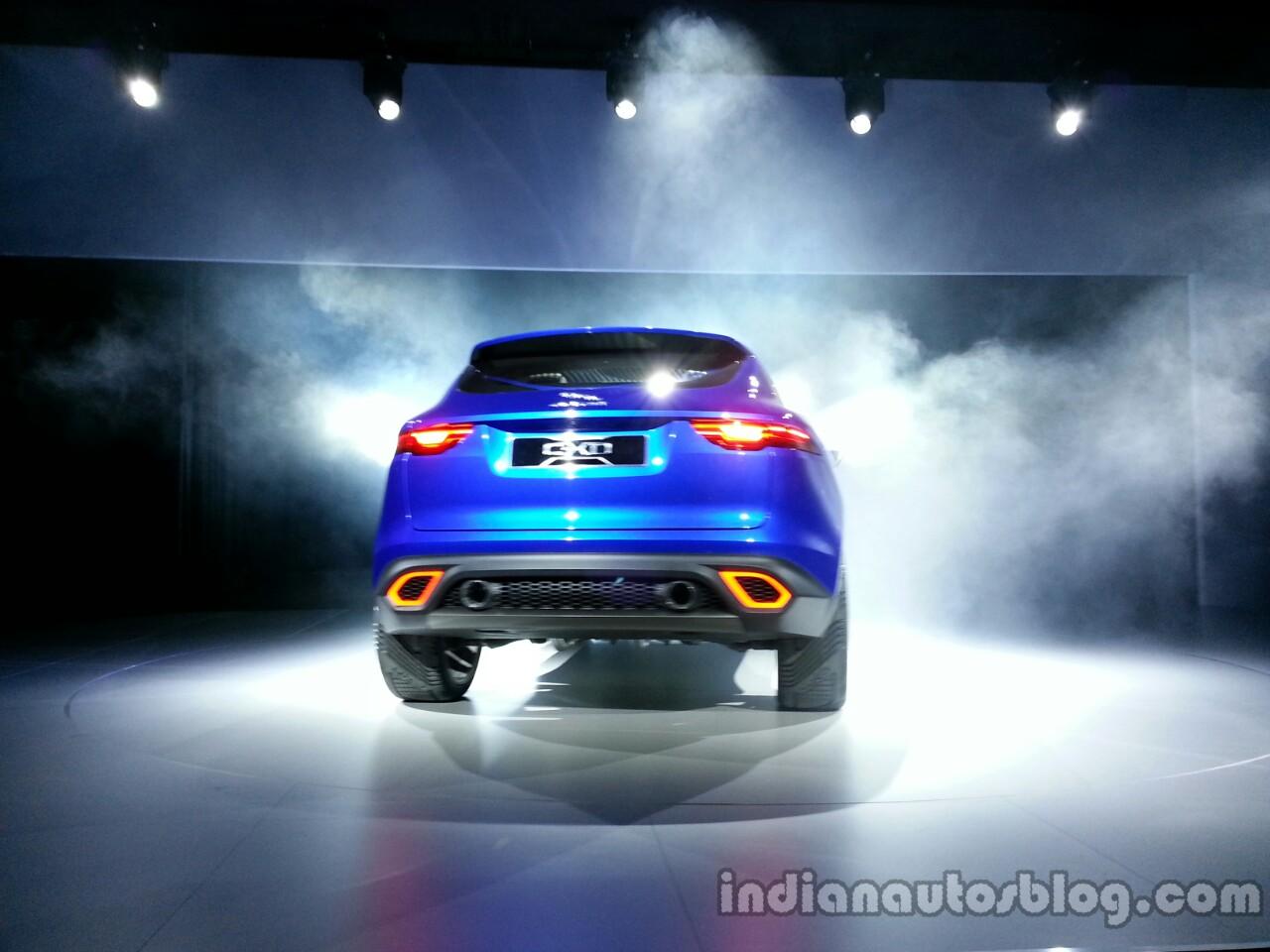 Rear of the Jaguar CX-17 Concept