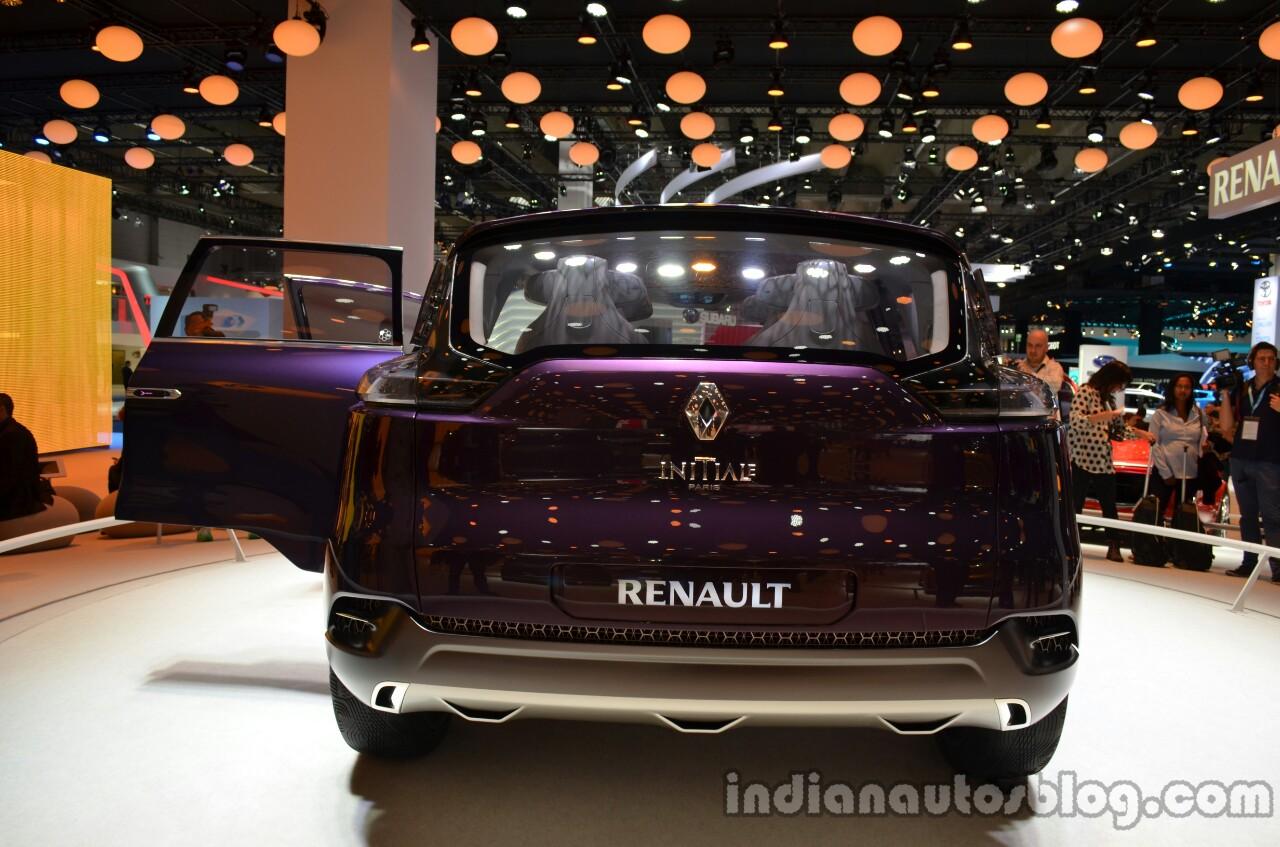 Rear of the Renault Initiale Paris Concept