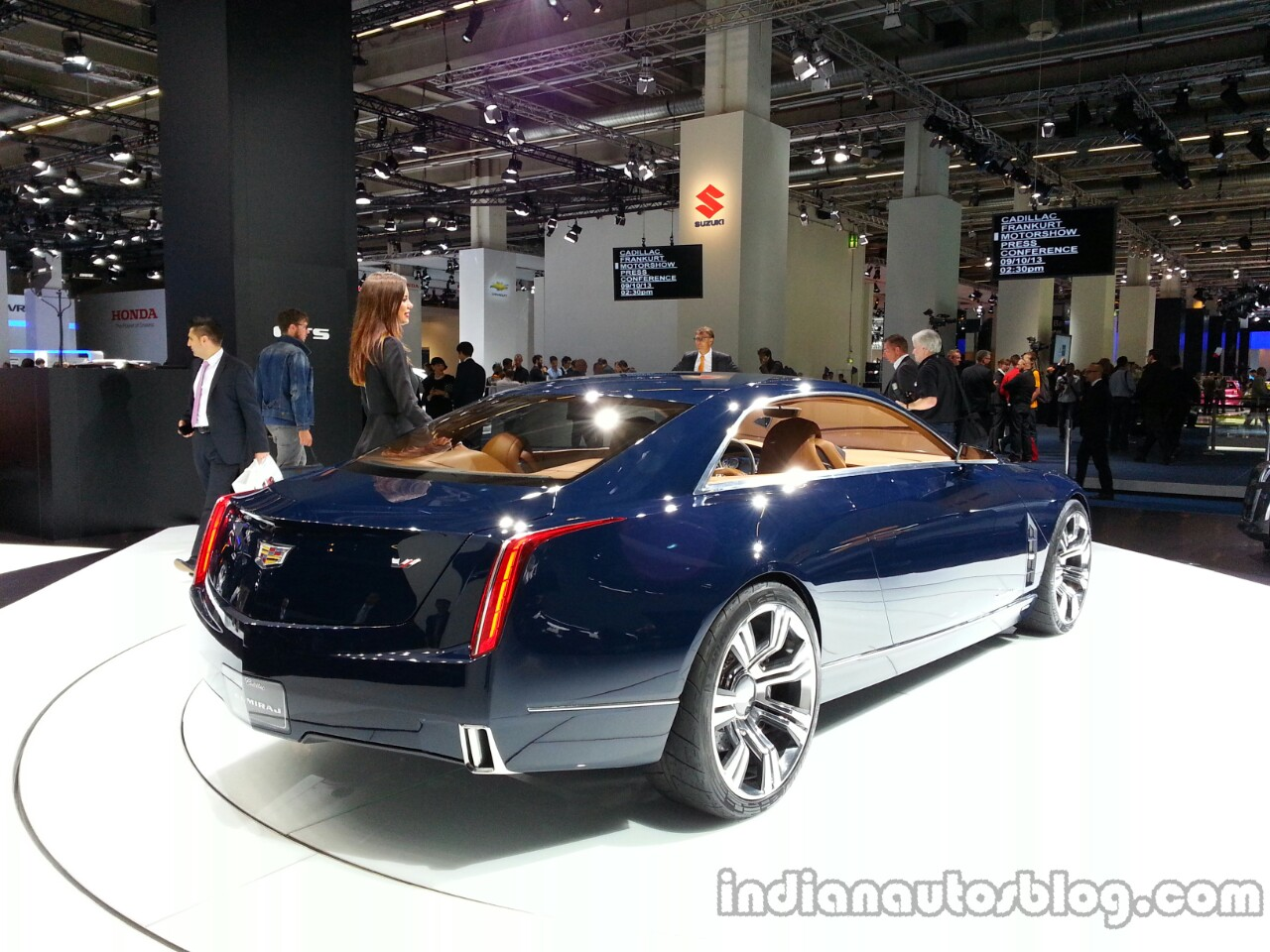 Rear three quarter of the Cadillac Elmiraj Concept
