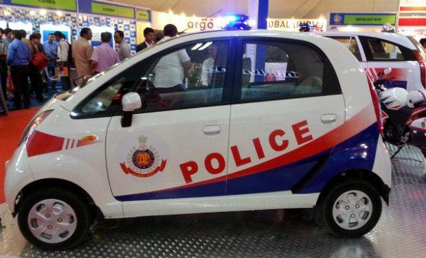 Tata Nano Delhi Police Vehicle