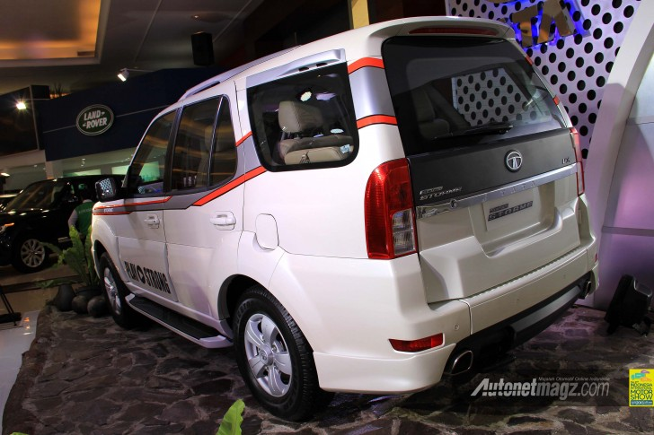 Tata Safari Storme modified rear
