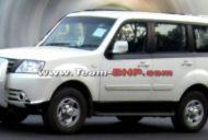 Tata Sumo Grande facelift spied