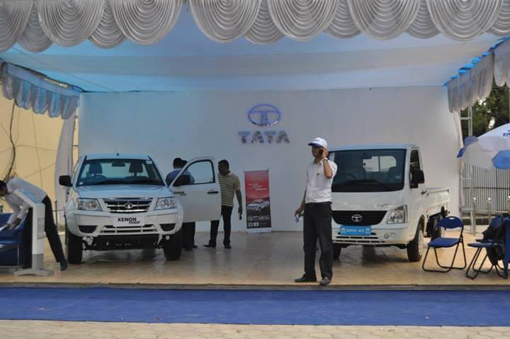 Tata Xenon Pick-up Nepal launch NADA 2013