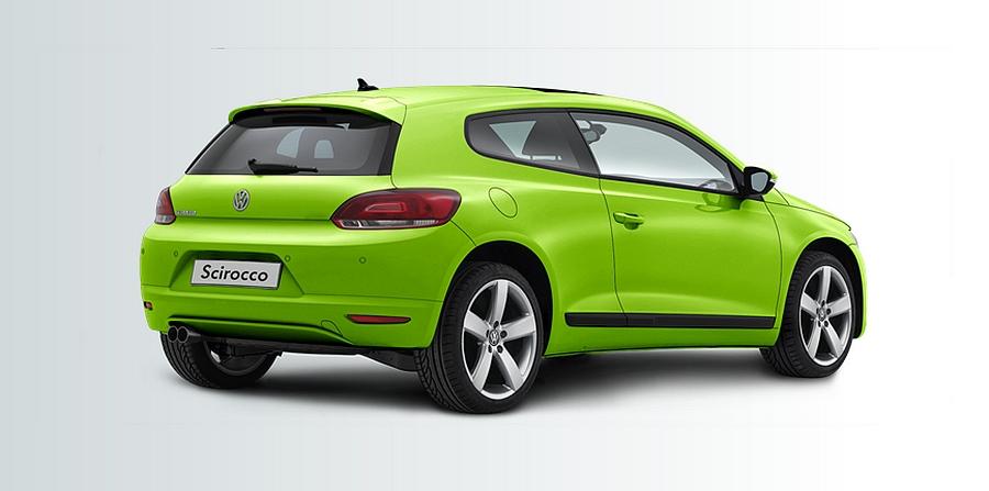VW Scirocco Ultimate Edition rear three quarters
