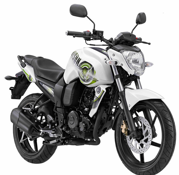 Yamaha Byson Indonesia - White and Green