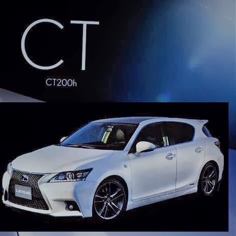 2014 Lexus CT200h facelift leaked