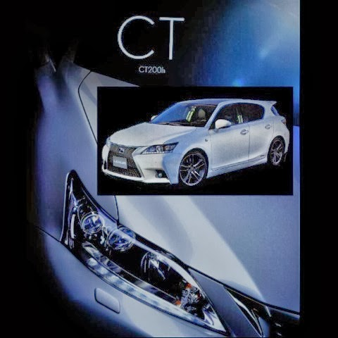 2014 Lexus CT200h facelift