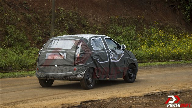 2014 Tata Vista refresh spied rear