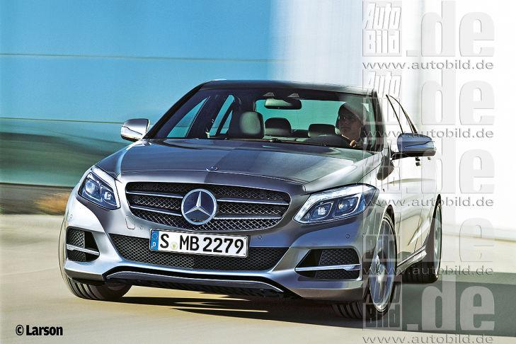 2015 Mercedes C Class rendering