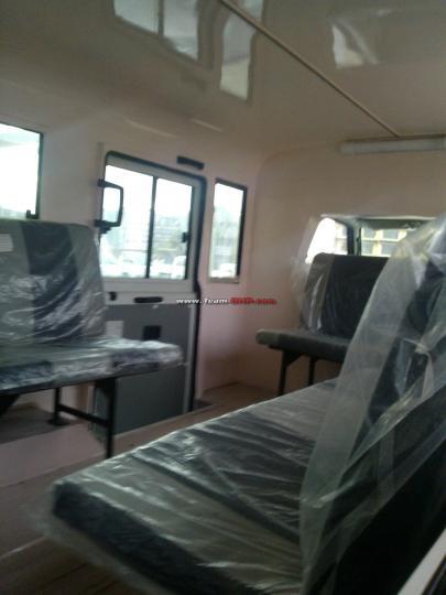 Ashok Leyland Dost Express spied interior