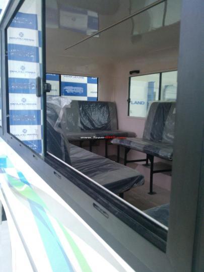 Ashok Leyland Dost Express spied interiors