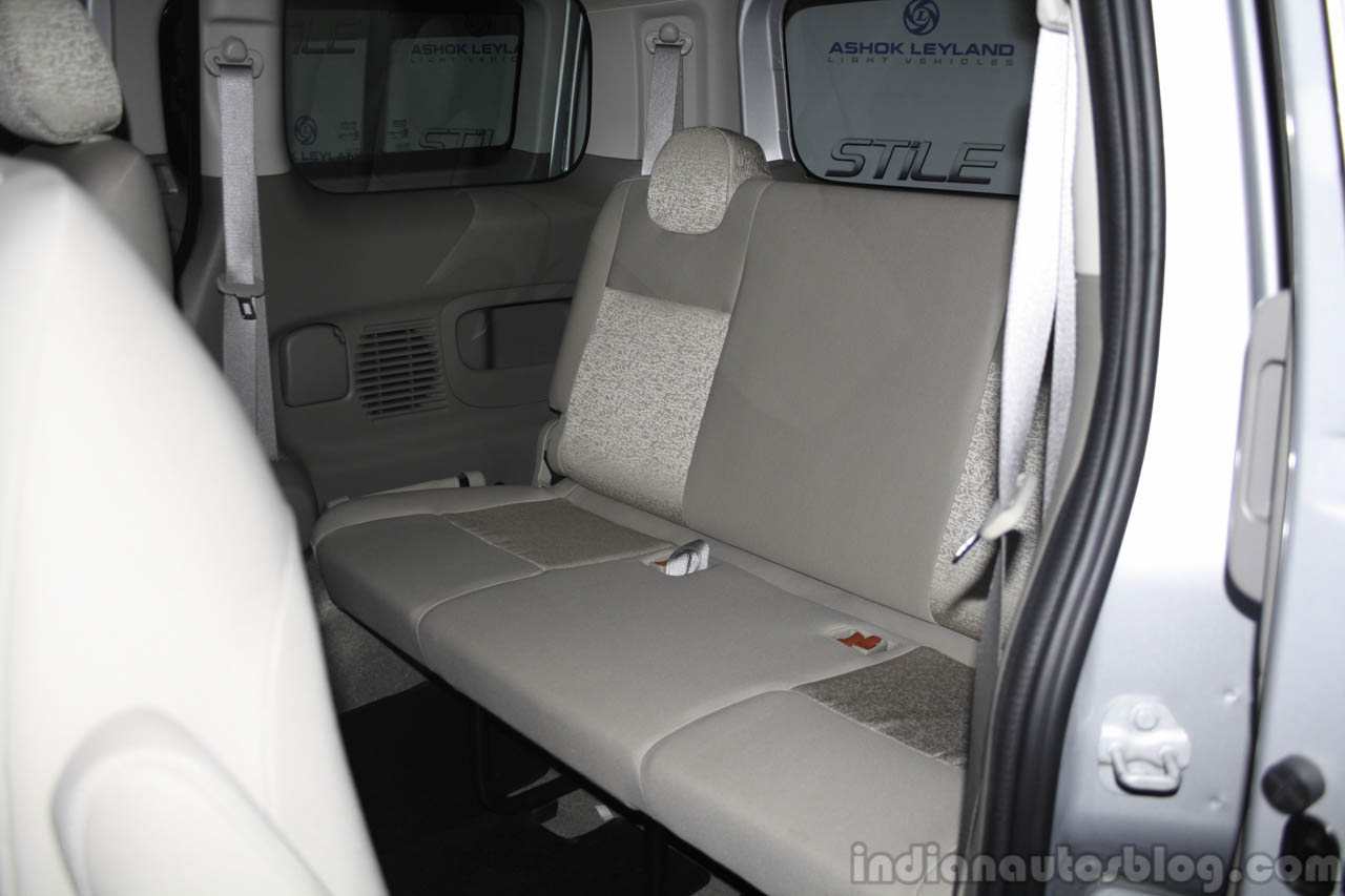 Ashok Leyland Stile third row seat
