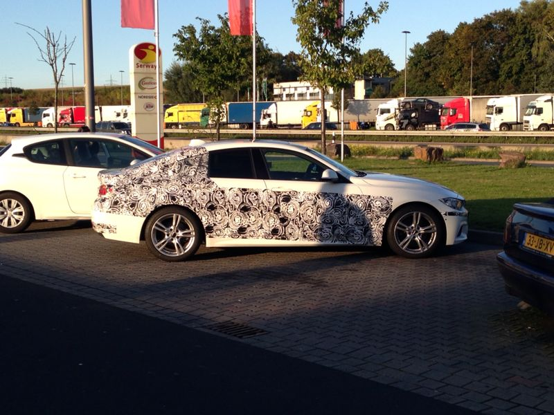 BMW 4 Series Gran Coupe spied side