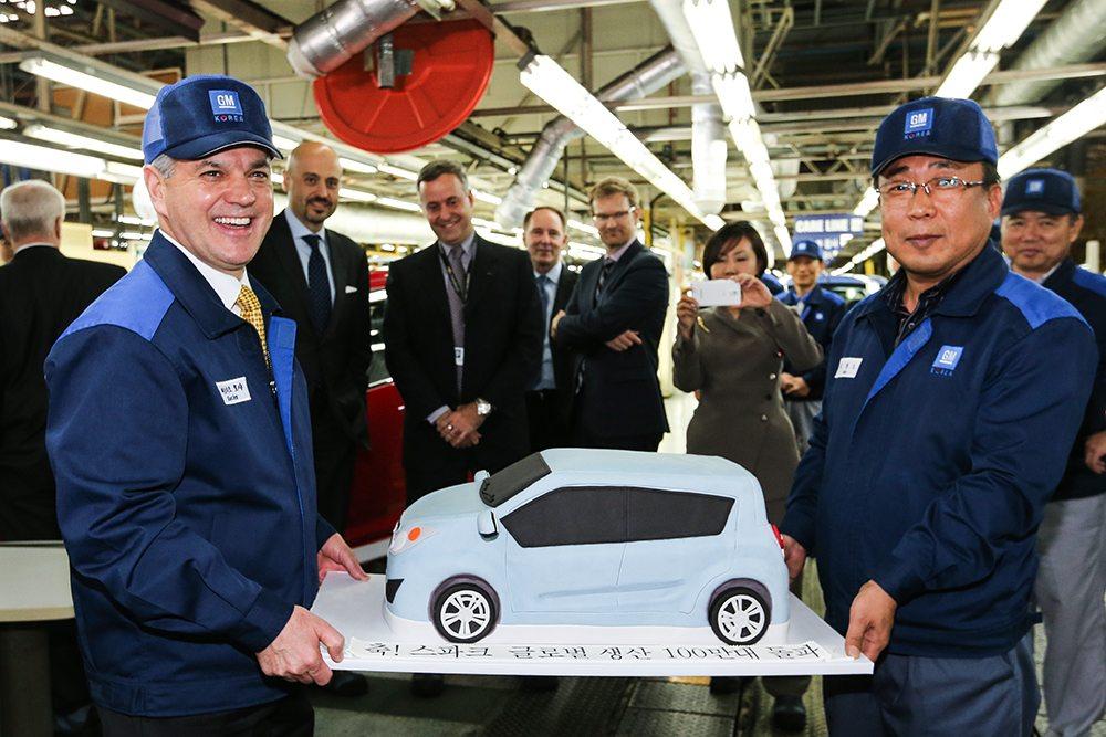 Chevrolet Spark One Million produced Korea