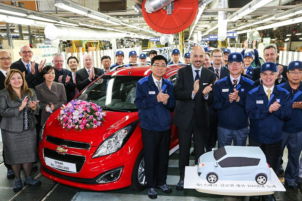 Chevrolet Spark One Million produced