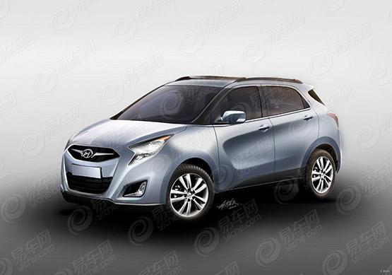 Hyundai Mini SUV rendering