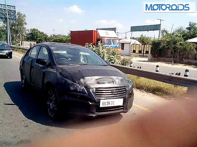 Maruti YL1 spied front
