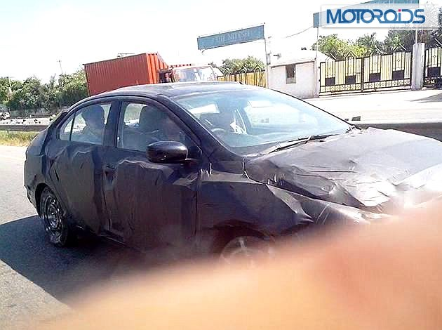 Maruti YL1 spied side