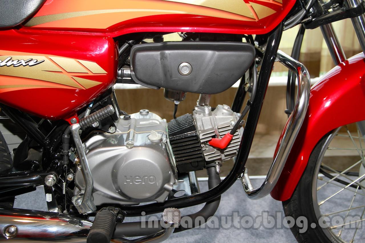 New Hero HF Deluxe engine