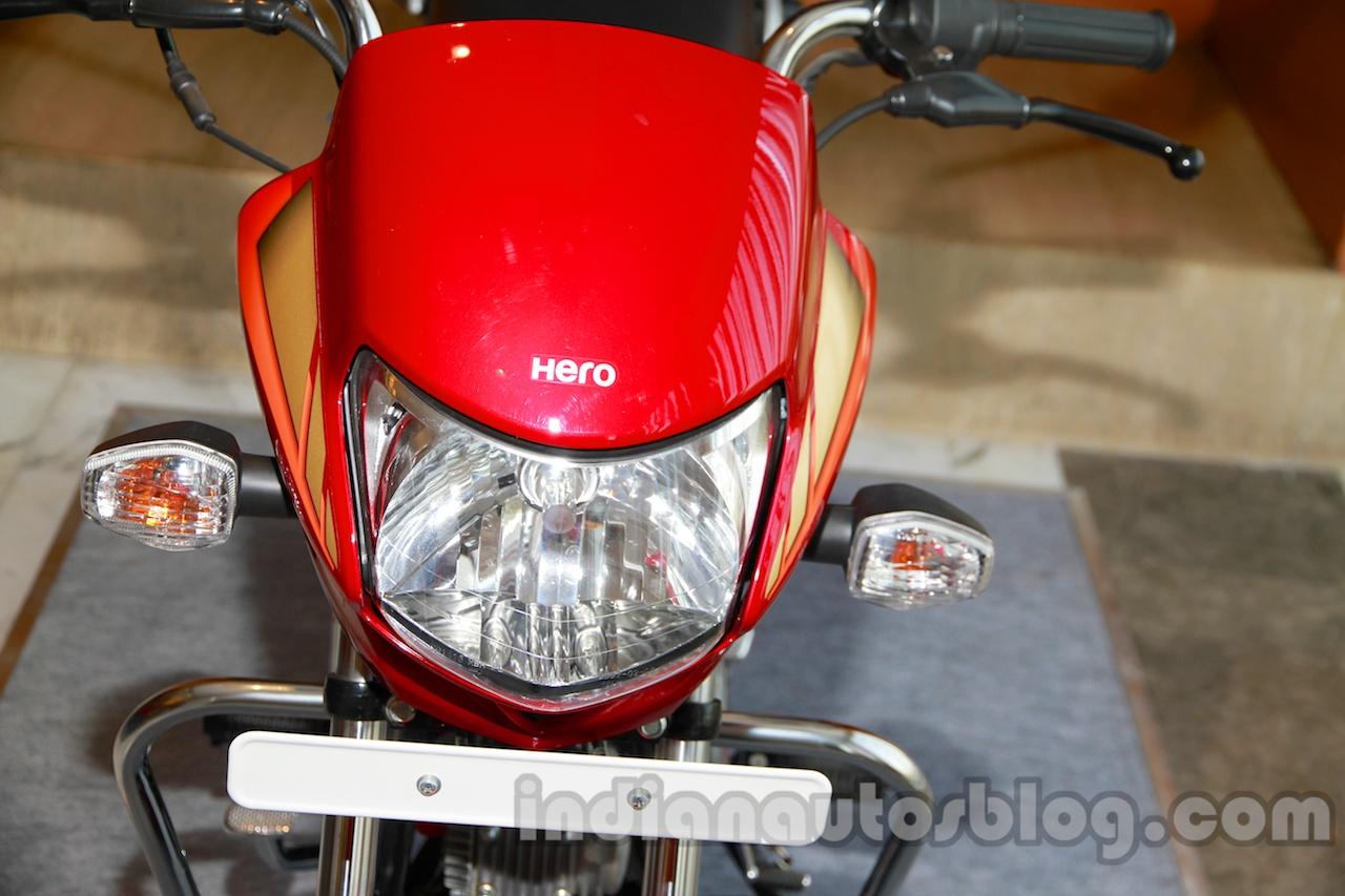 New Hero HF Deluxe headlight