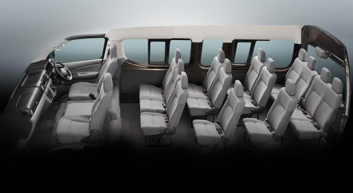 Nissan Urvan NV350 interiors