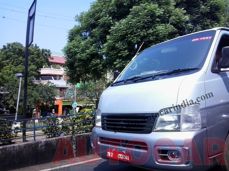 Nissan Urvan NV350 spied in India