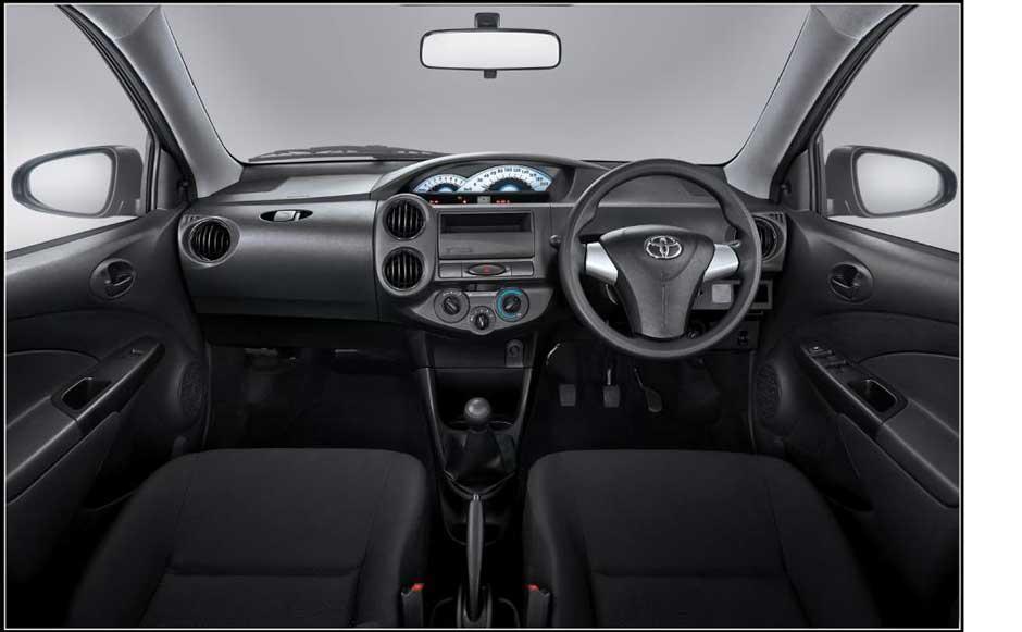 Toyota Etios Valco JX dashboard