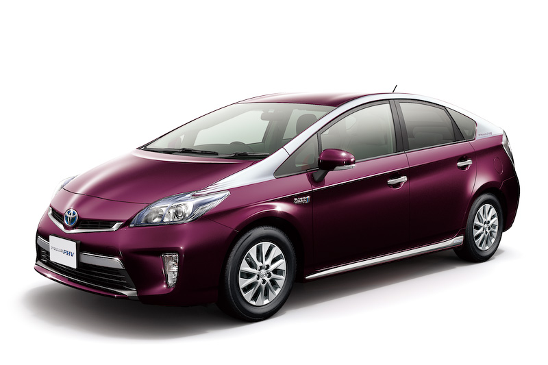 Toyota Prius PHV upgraded