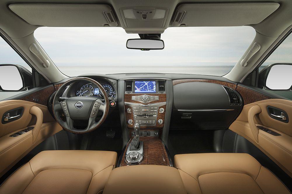 2014 Nissan Patrol dashboard