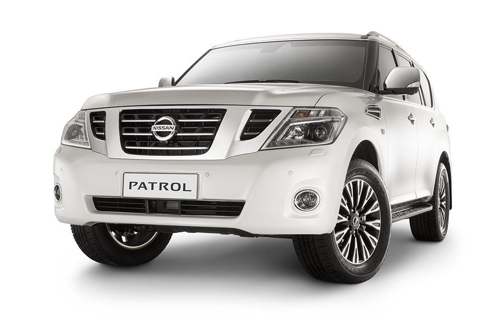 2014 Nissan Patrol front three quarters