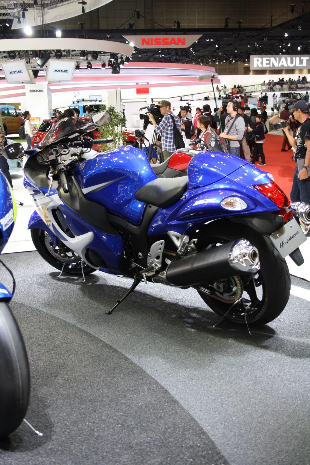 2014 suzuki hayabusa rear quarter tokyo motor show - Tokyo motor show 2014 ...