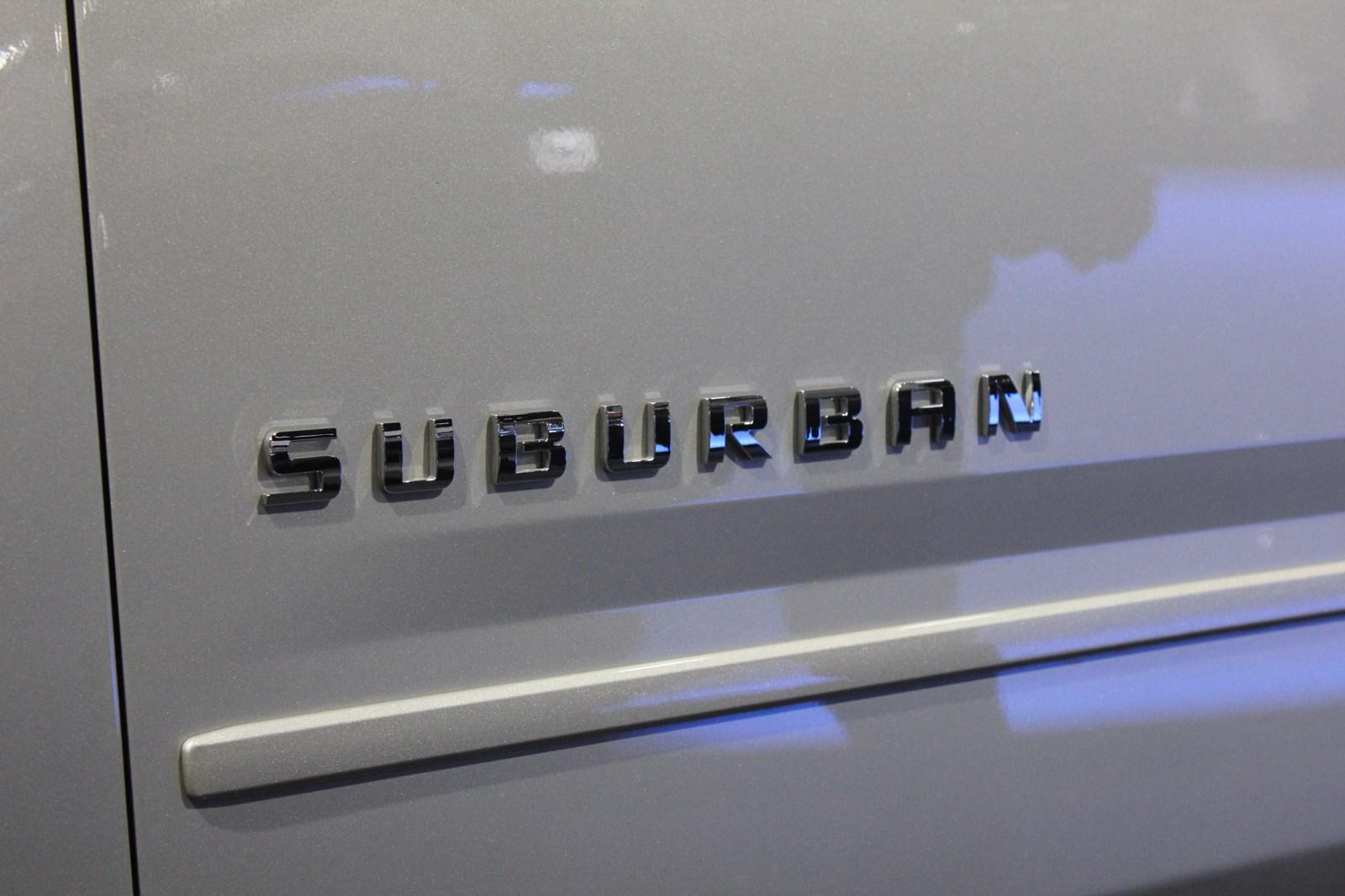2015 Chevrolet Suburban lettering