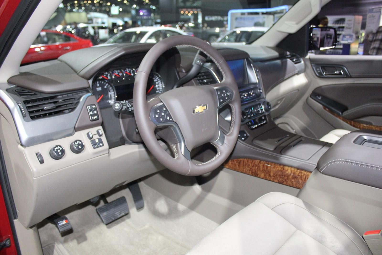 2015 Chevrolet Tahoe breaks cover at 2013 LA Auto Show