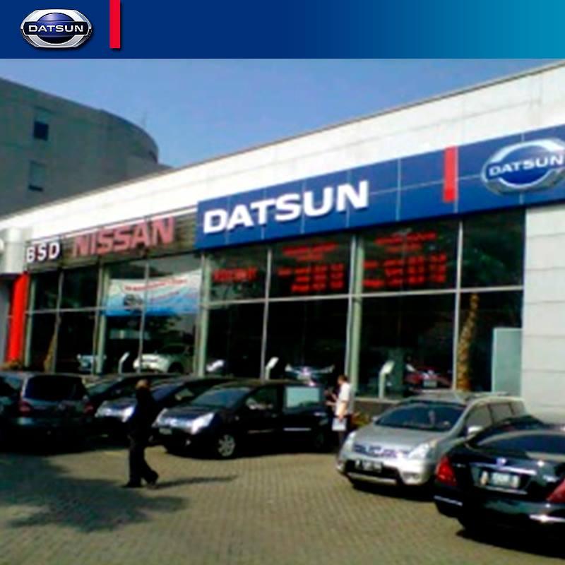 Datsun dealership in Indonesia