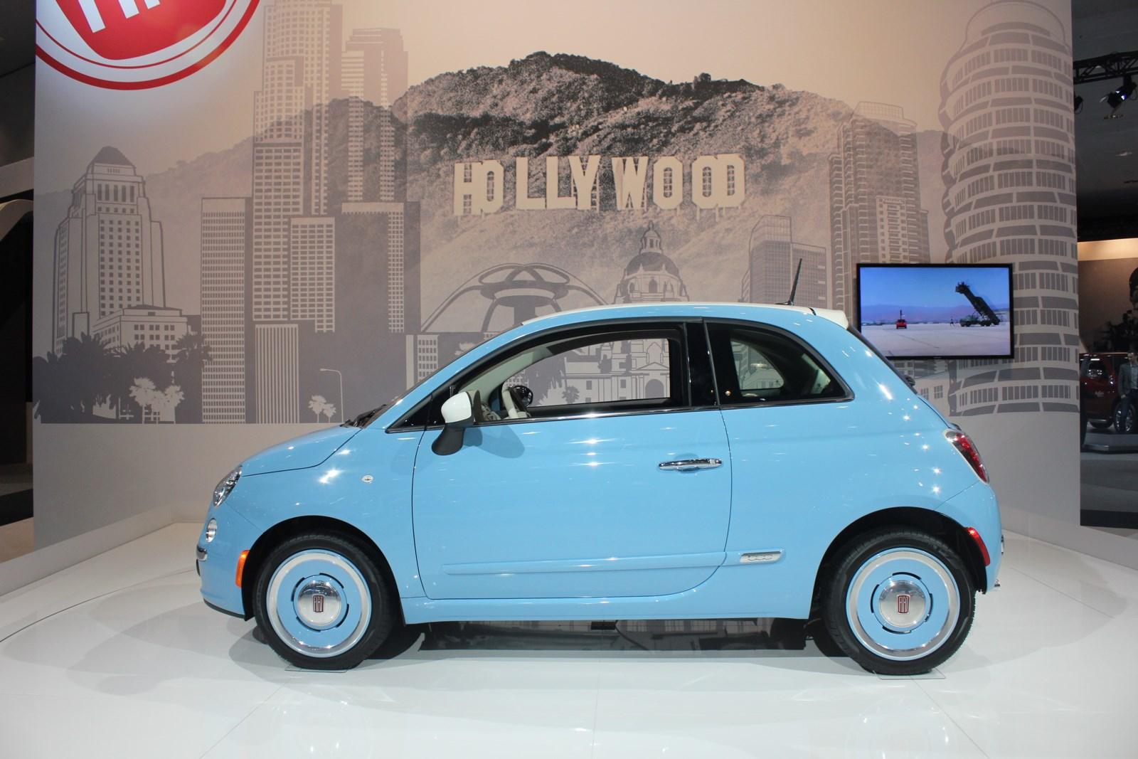 2013 La Auto Show Live 2014 Fiat 500 1957 Edition